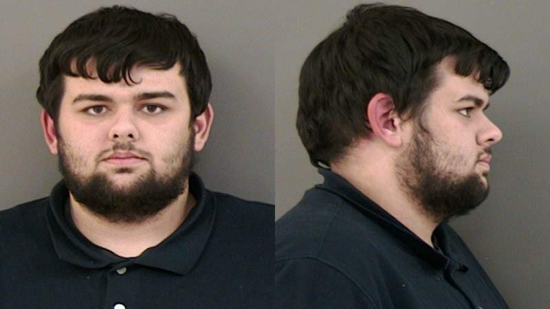 Dylan James Joslin, jail booking photo
