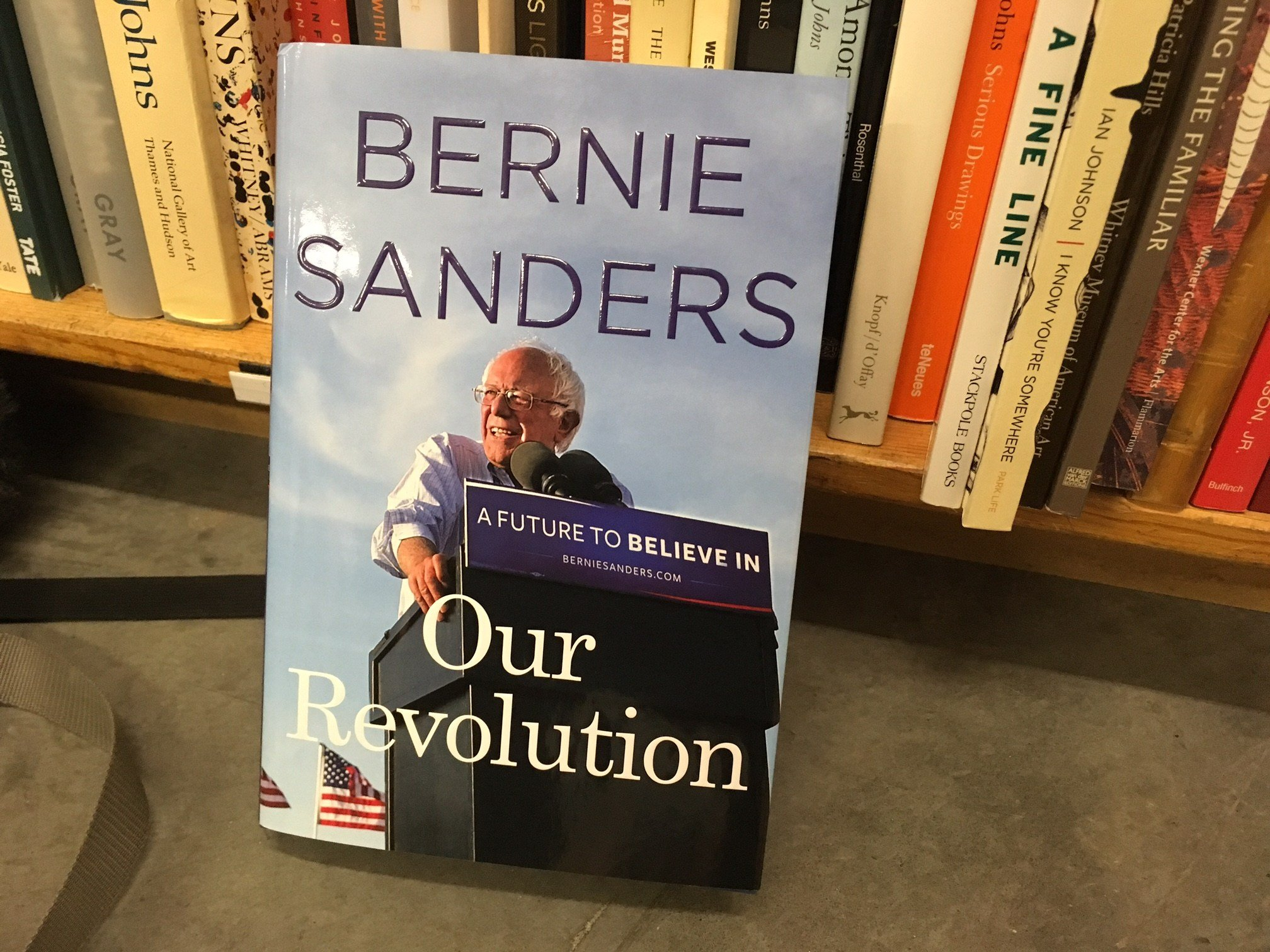 Sen. Bernie Sanders' newest book.