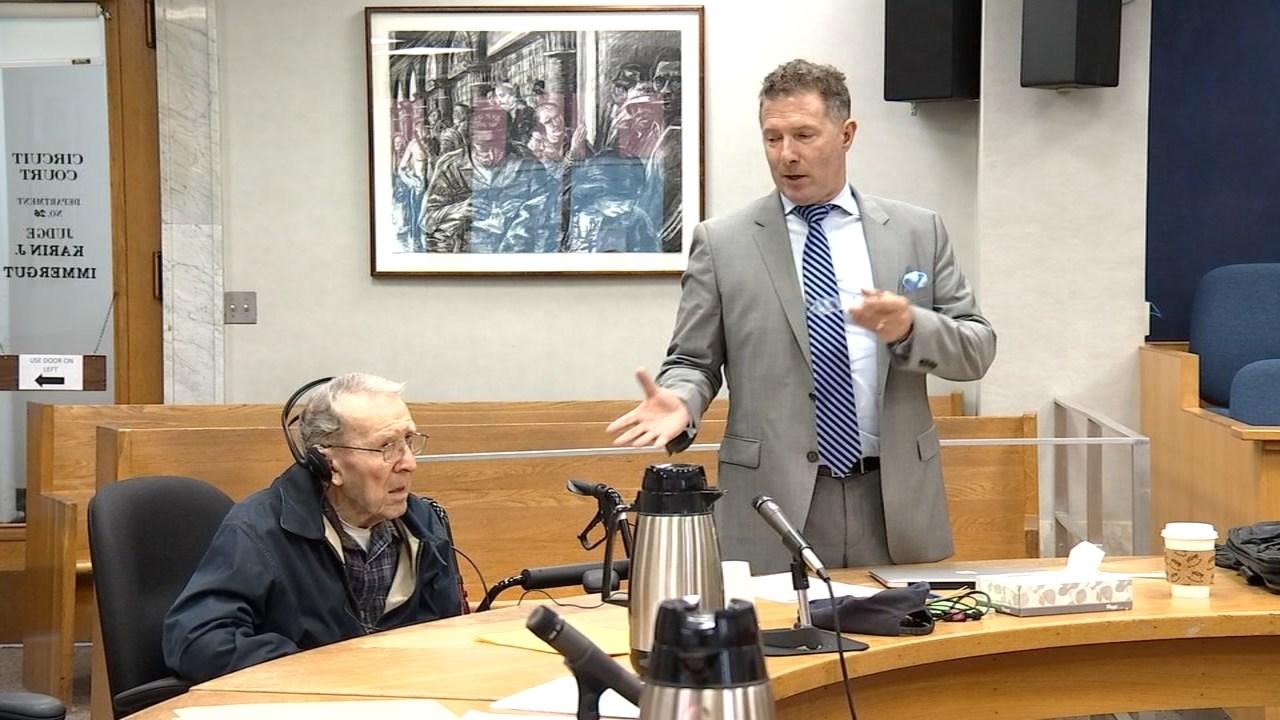 Edmond Balding in court on Friday. (KPTV)
