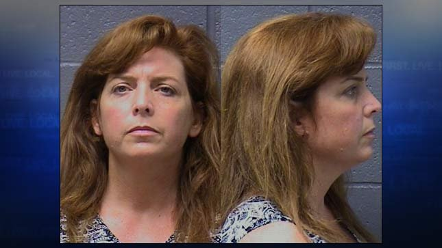 Terri Horman, jail booking photo provided by Yuba County Sheriff's Office