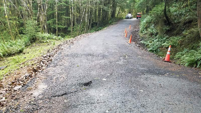 Damage at Ecola State Park (Photo: Oregon Parks and Recreation Department)