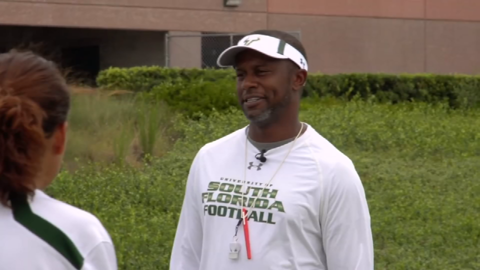 Coach Willie Taggart File Image