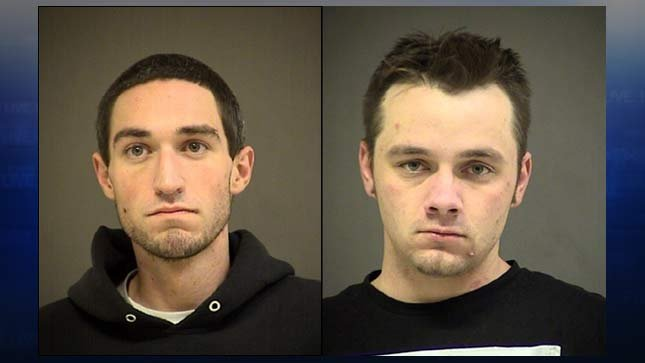 Coty Michael Dingus, Corey John Smith (Jail booking photos)