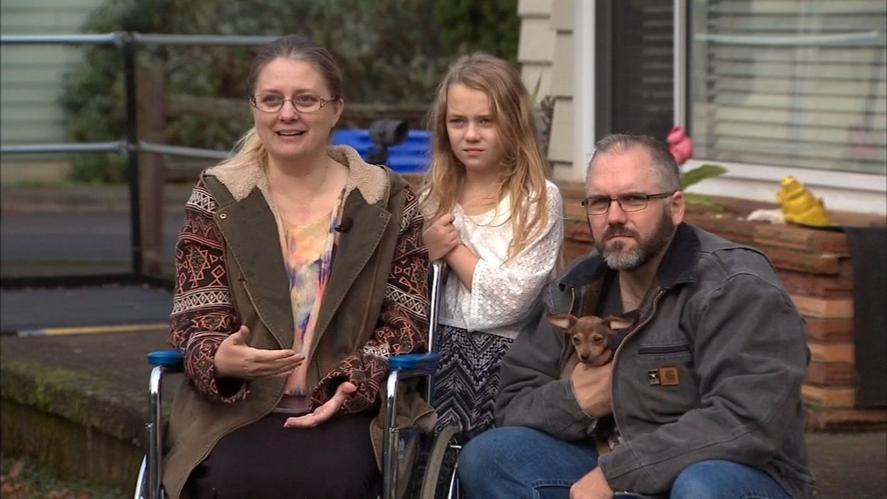 Karen Bonelli-Sanquist, Tessa and Ron Sanquist. (KPTV)