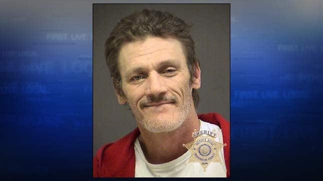 John Thralls, jail booking photo