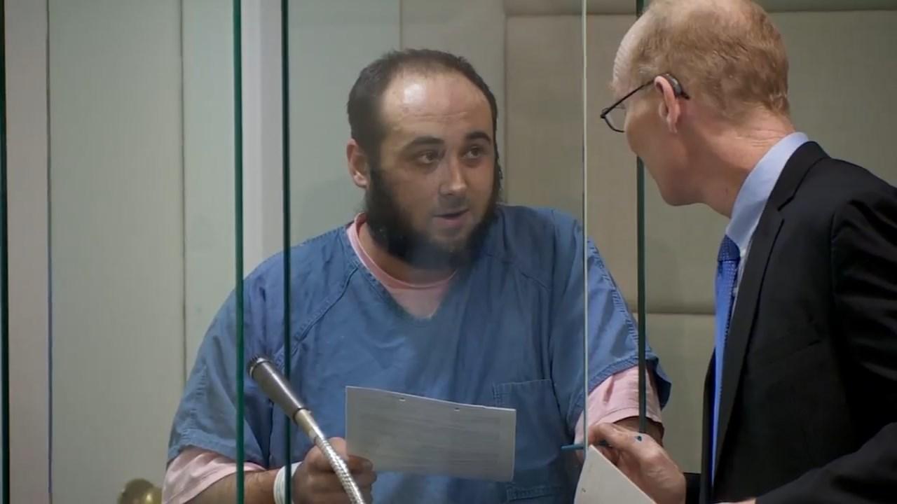 Joshua Constantine, road rage shooting suspect, in court Wednesday. (Source: KPTV)