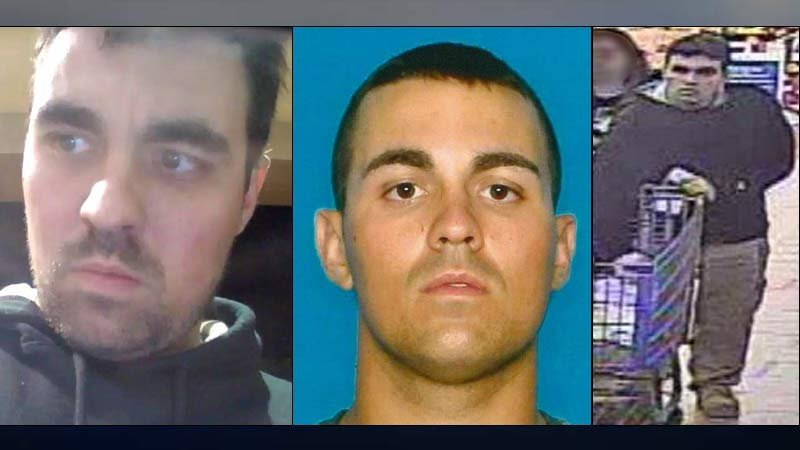 Murder suspect John Tufton Blauvelt (Images: U.S. Marshals Service)