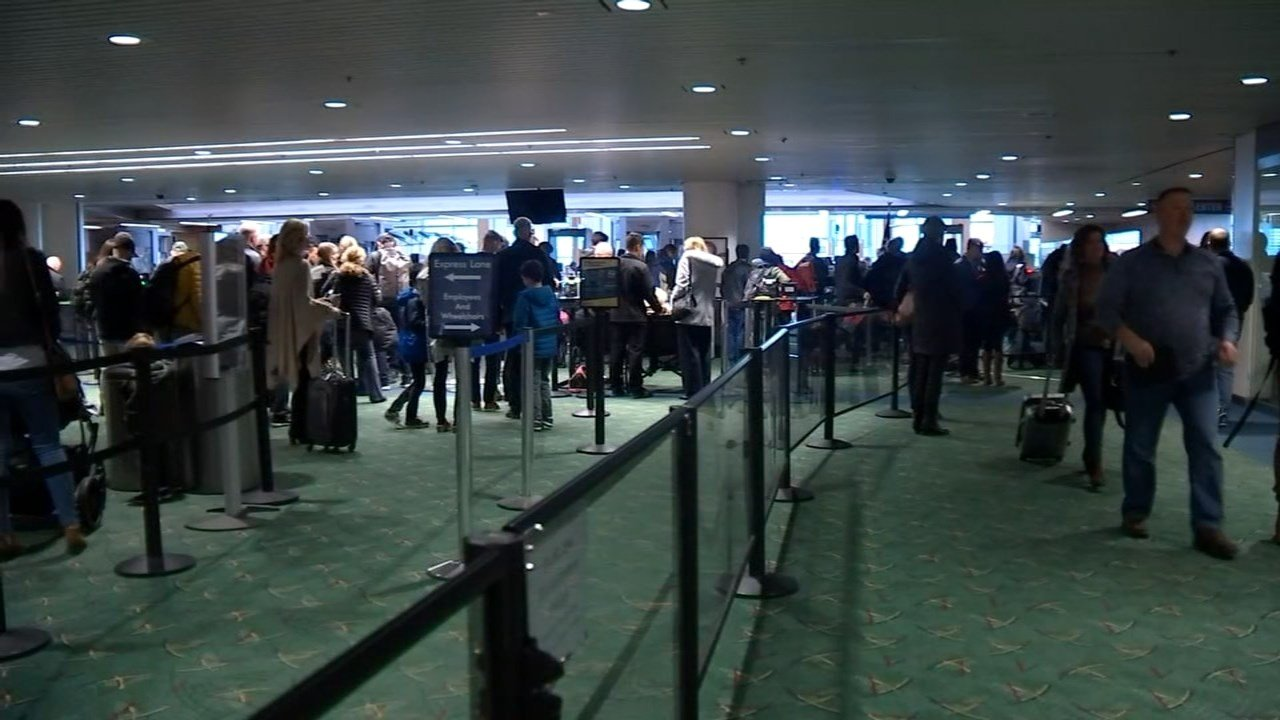 AAA says December 23 could be one of the busiest travel days of the year, with Portland International Airport estimating expecting to see 60,000 travelers Friday alone. (KPTV)