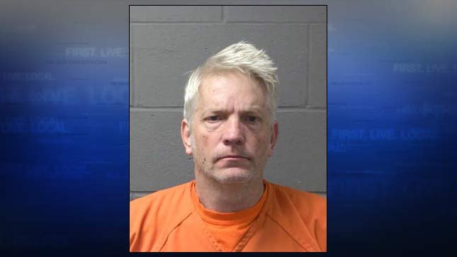 Travis Kimball, jail booking photo