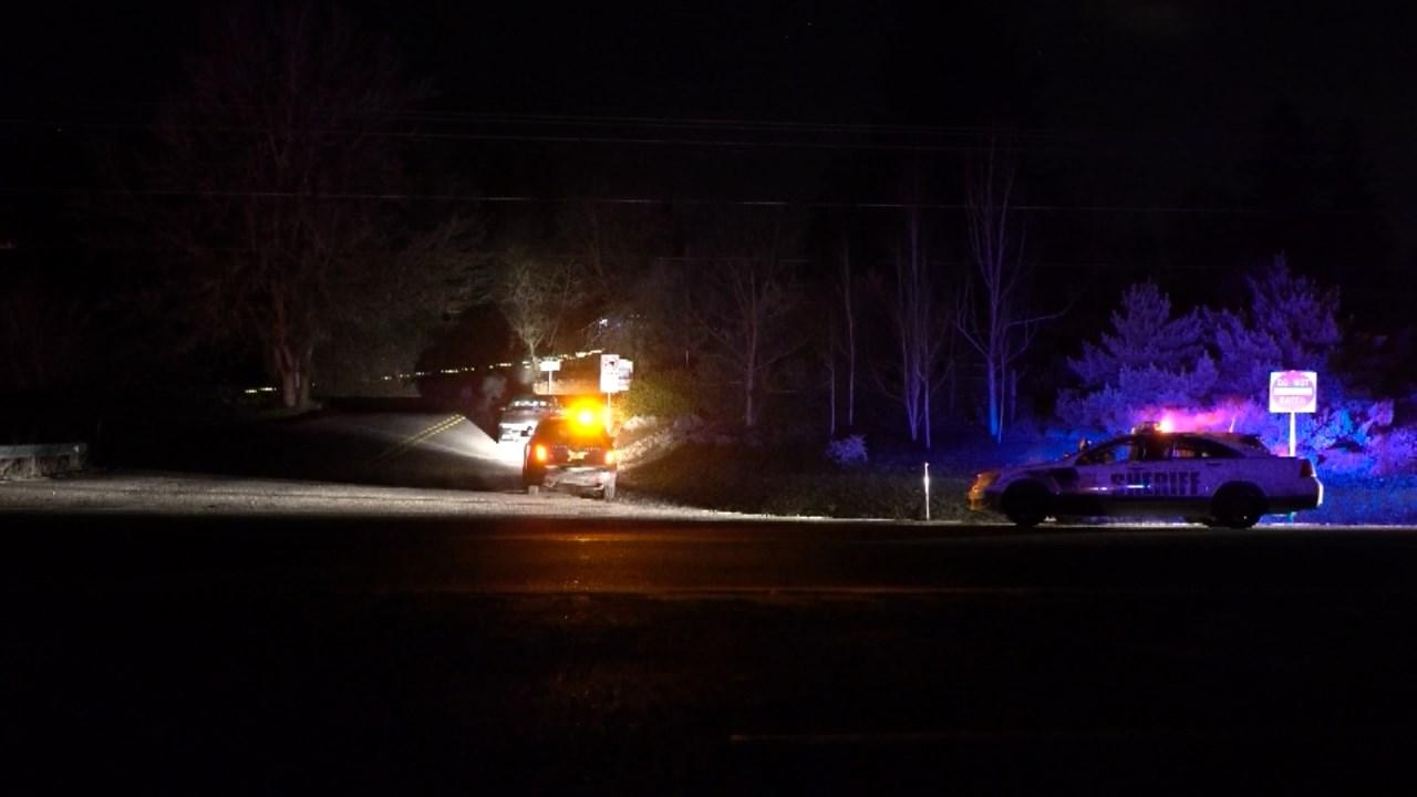 Deadly officer-involved shooting scene near Sherwood. (KPTV)
