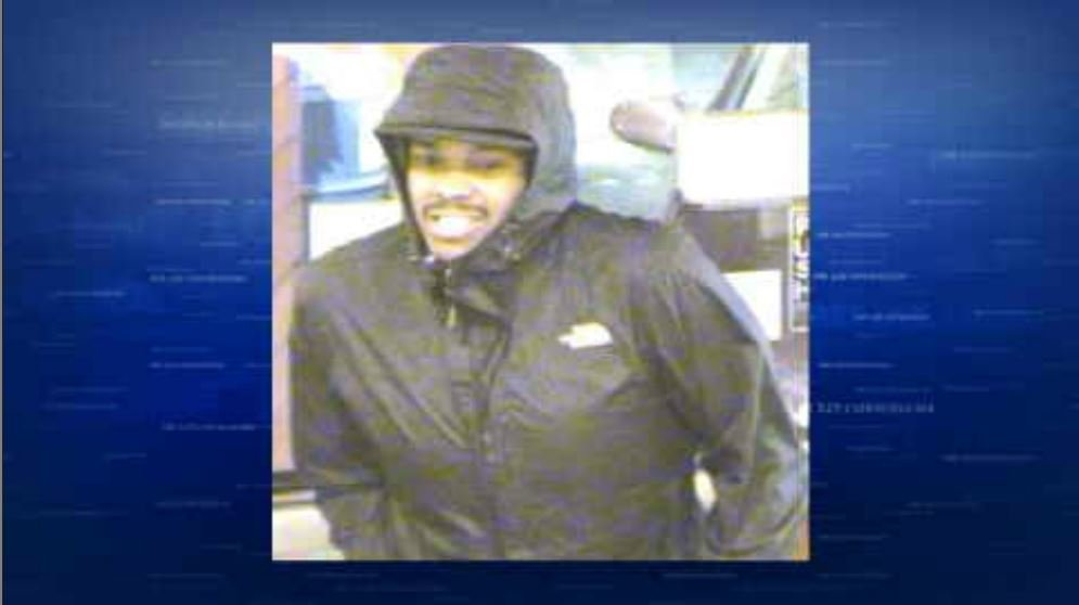 Surveillance image of suspect (Courtesy: Crime Stoppers of Oregon)