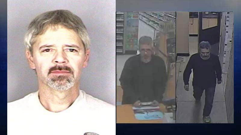 Images of Kevin Acup (Salem Police Department)