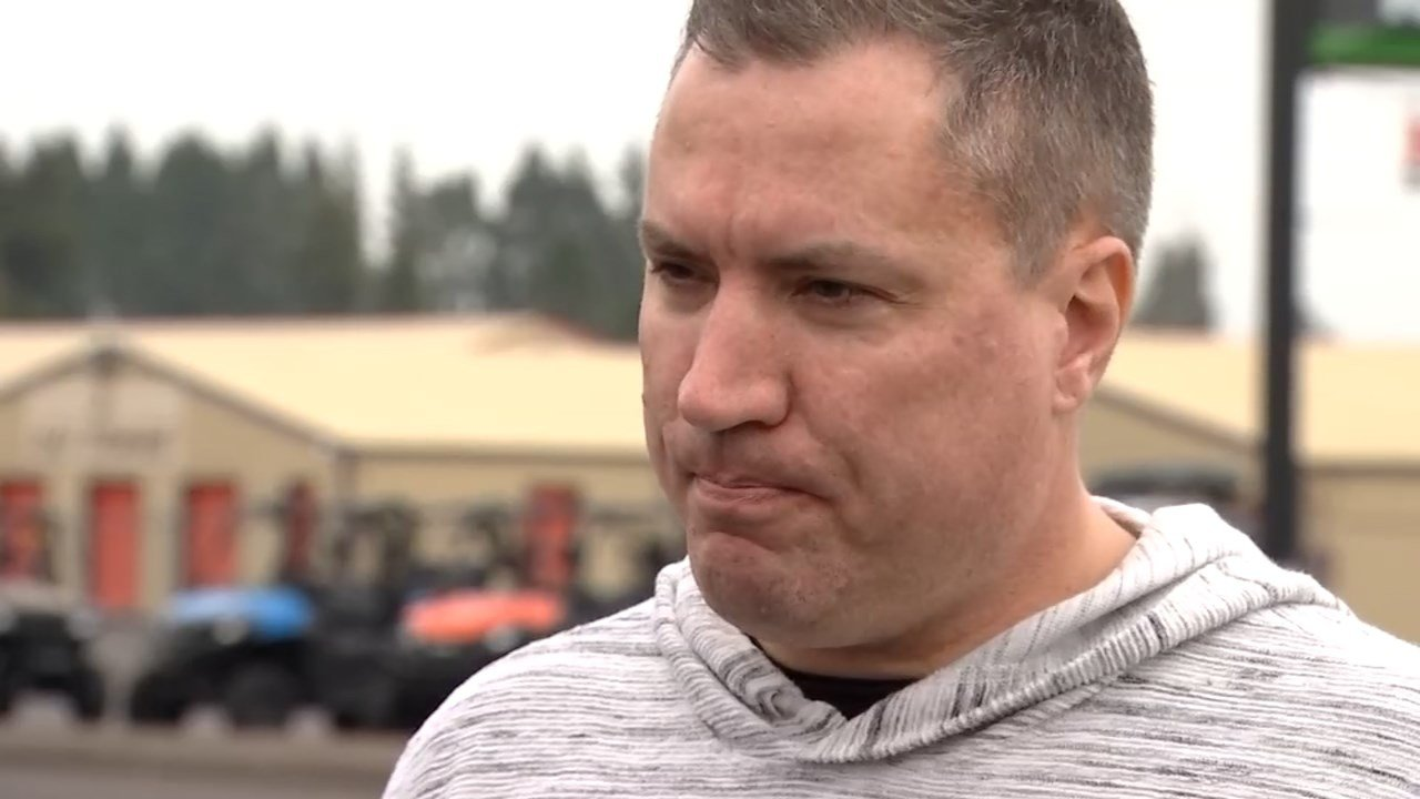 Matthew Miller came home just before Thanksgiving to find thousands of dollars worth of tools stolen from his storage unit. (KPTV)