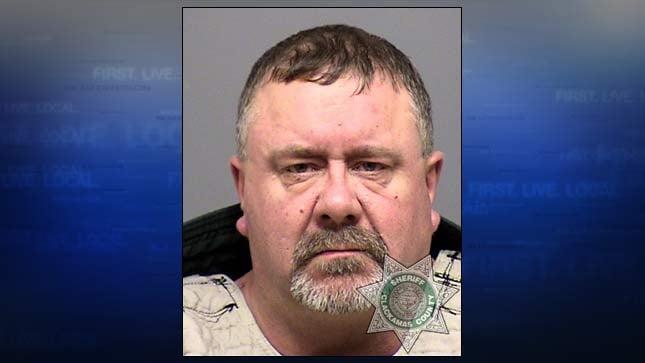 Wayne Edmund Flues, jail booking photo