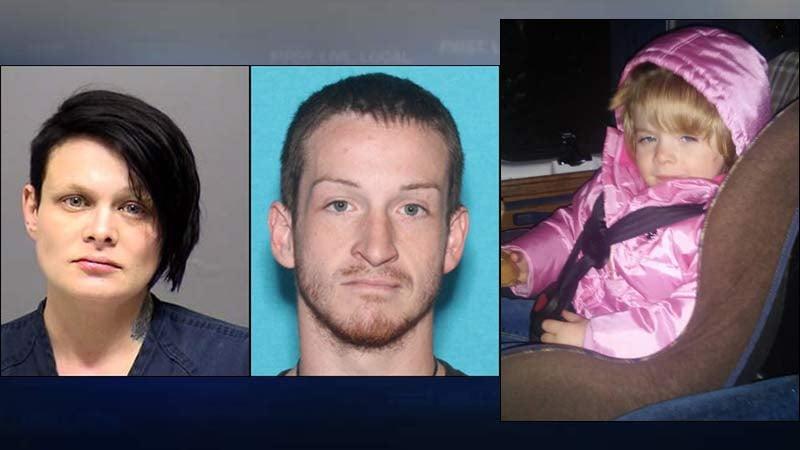 Meghan Wilson, Derrick Scott, Shyann Scott (Images released by Clackamas County Sheriff's Office)