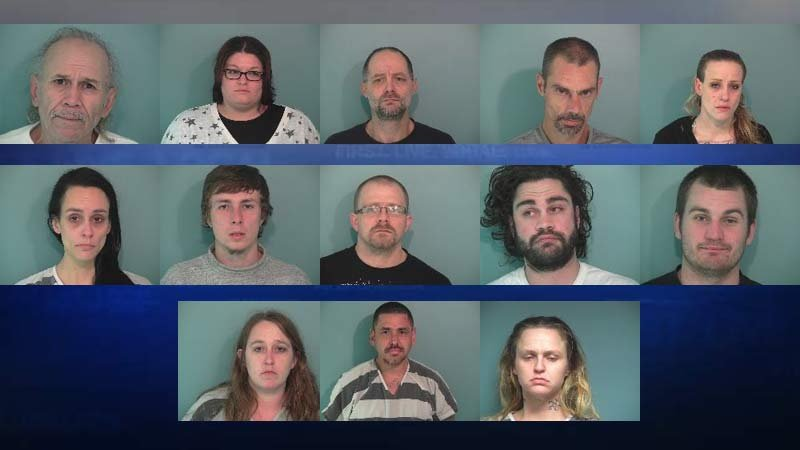 "Suspects arrested in connection with ""Operation Deicer"" in Polk County. (Jail booking photos from the Polk Co. Sheriff's Office)"