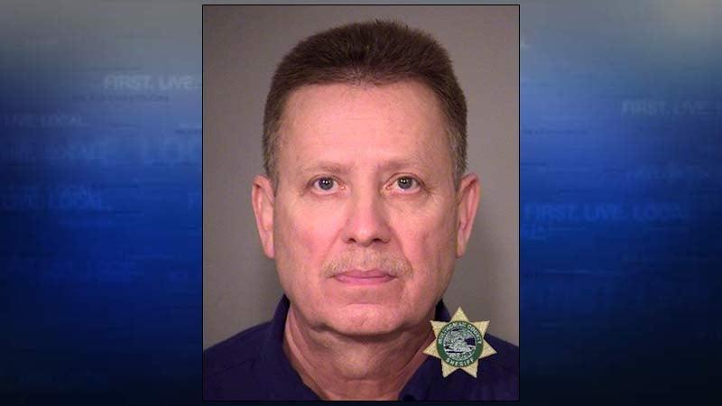 Charles Hollin, Multnomah County Jail booking photo