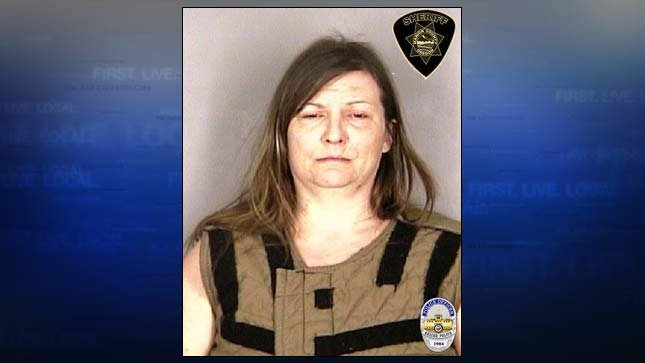 Amy Marie Robertson, jail booking photo