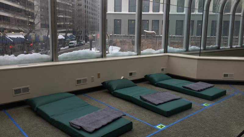Columbia Shelter in downtown Portland (Photo: Multnomah County)