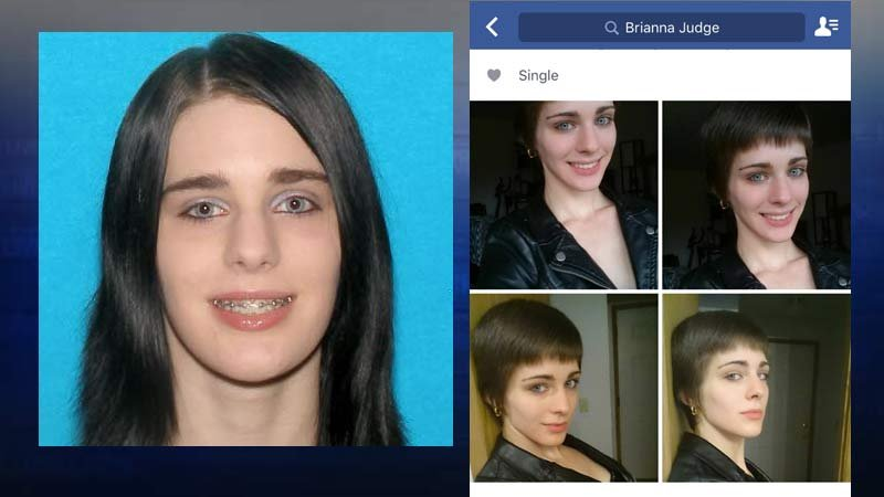 Brianna Judge, photos released by Clatsop County Sheriff's Office