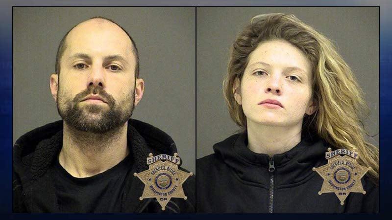 Paul Warren Roys, Brooke Rachelle Bearman, jail booking photos