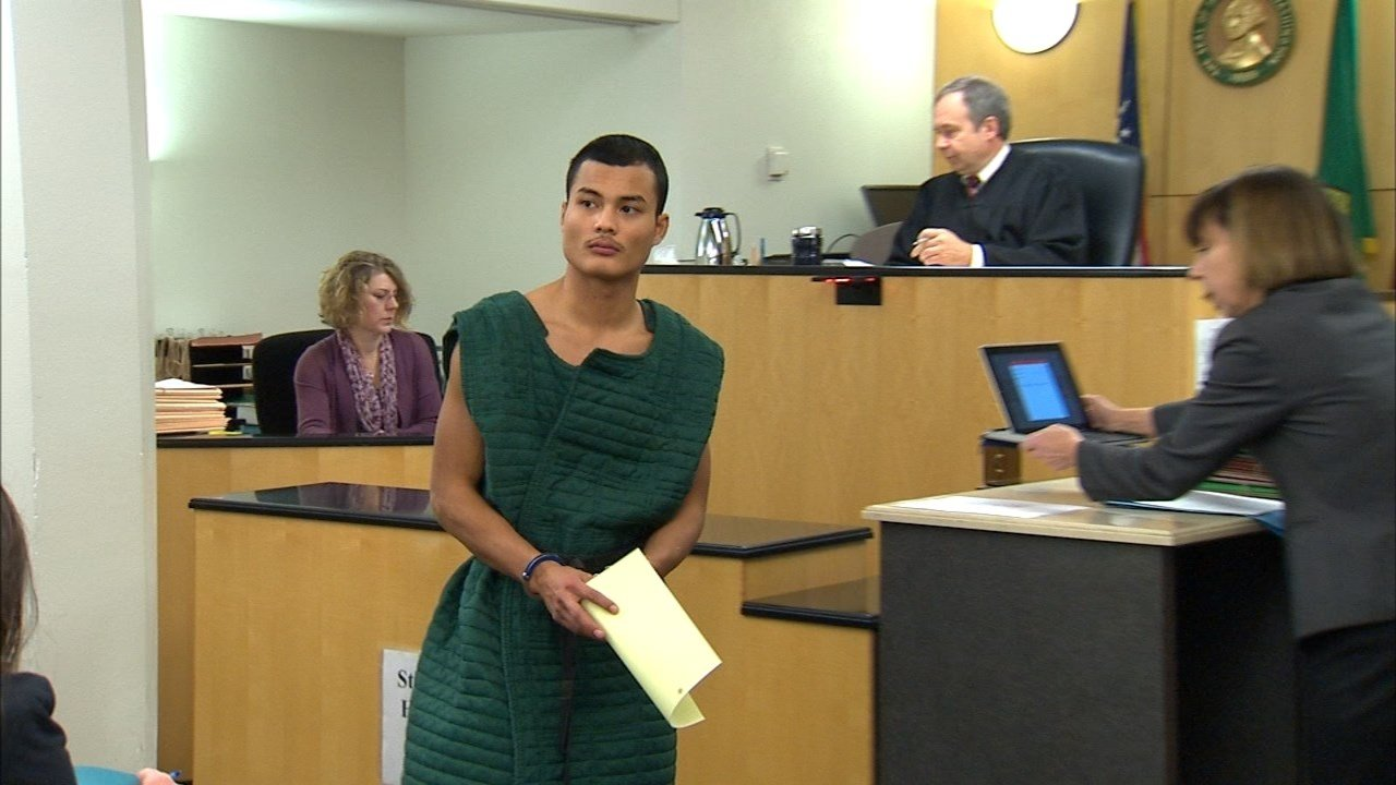 Mitchell Heng in court Friday. (KPTV)