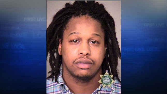 Marcus Anthony Davis, jail booking photo. (Courtesy: Portland Police Bureau)