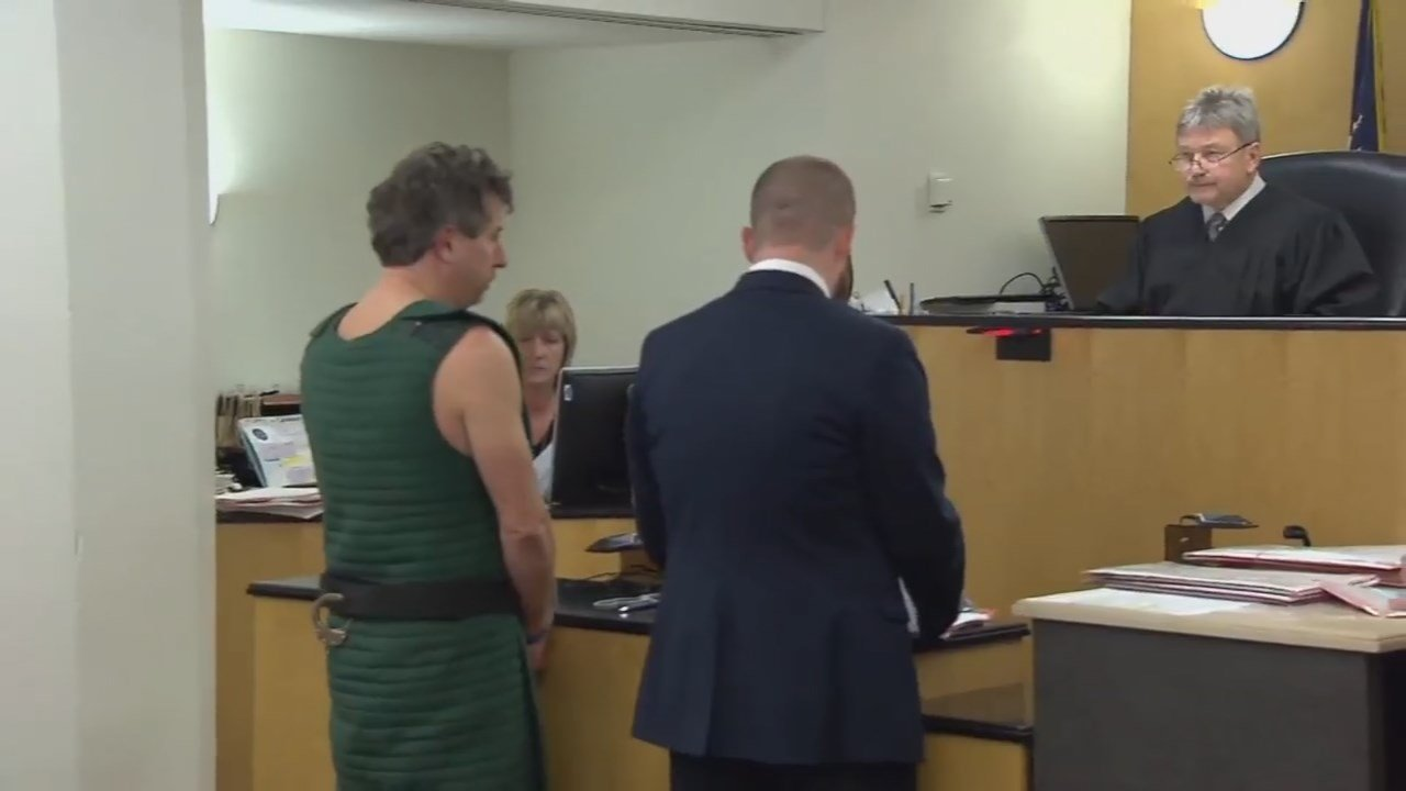 TJ Ferres in court on Monday. (KPTV)
