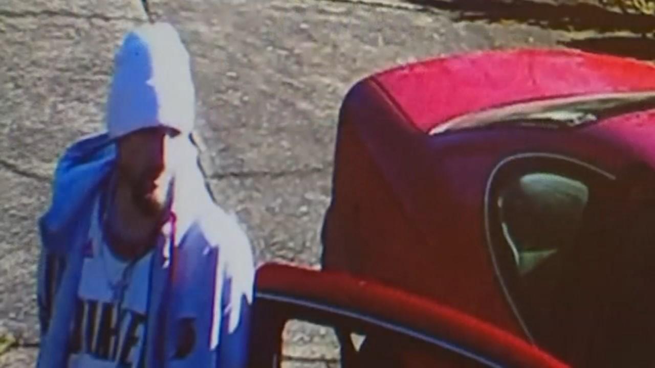 Surveillance image of suspect. (Courtesy: Scott Detweiler)