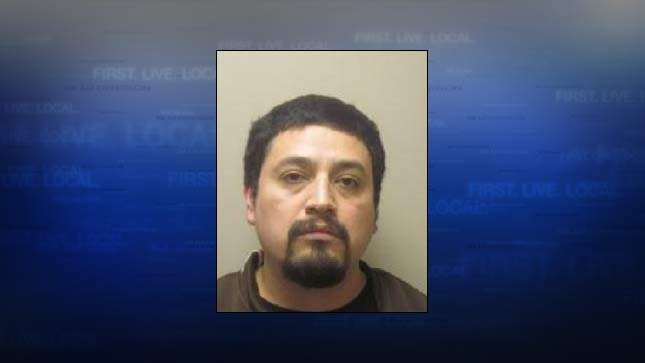 Adrian Barrera-Mesinas, jail booking photo