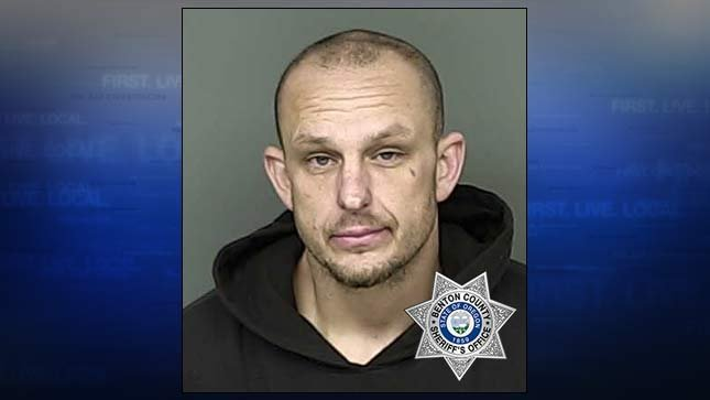 Robert Steven Dailey, jail booking photo