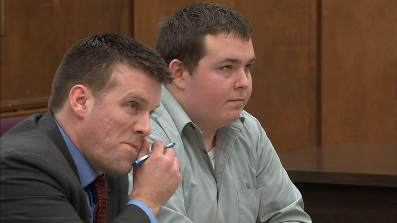 Andrew Olsen in court on Tuesday. (KPTV)
