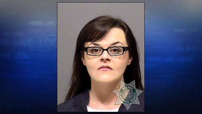 Paula Prosch, jail booking photo