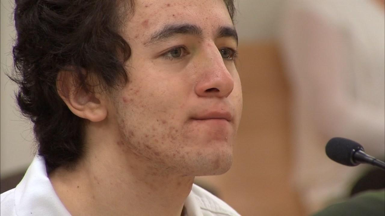 Jaime Tinoco in court Thursday. (KPTV)