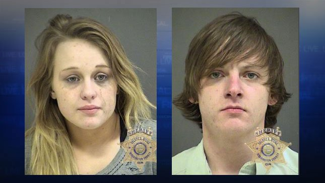 Autumn Brelin, Cyrus Grabenhorst (jail booking photos)