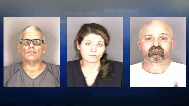 (Left to right) Frank Defelice, Holly Kelsey and Roy Shinall. (Photo: Salem Police Department)