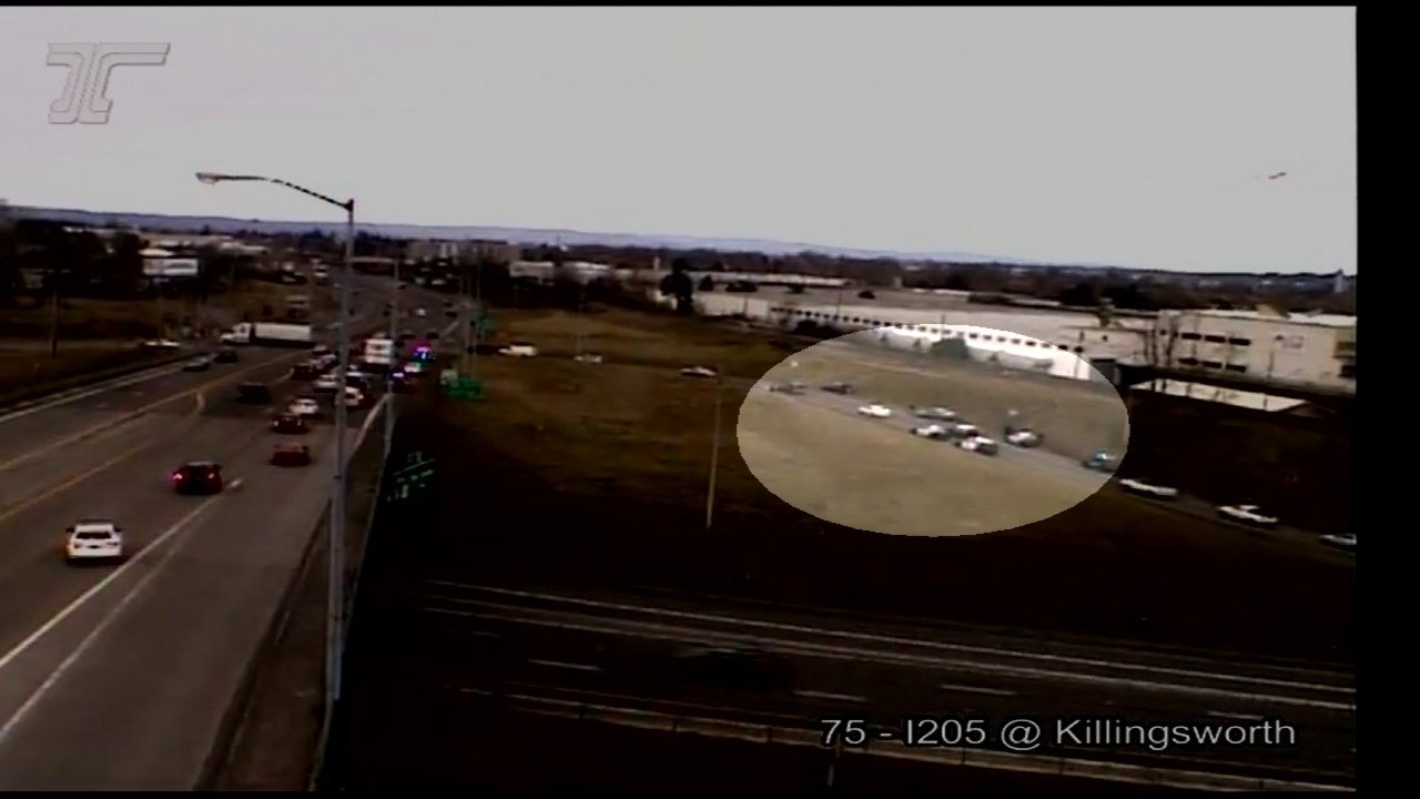 A Vancouver shooting suspect was arrested near I-205 and the Killingsworth interchange in Portland. (Source: ODOT)