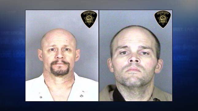 Brian Eller, Bradley Monical, jail booking photos