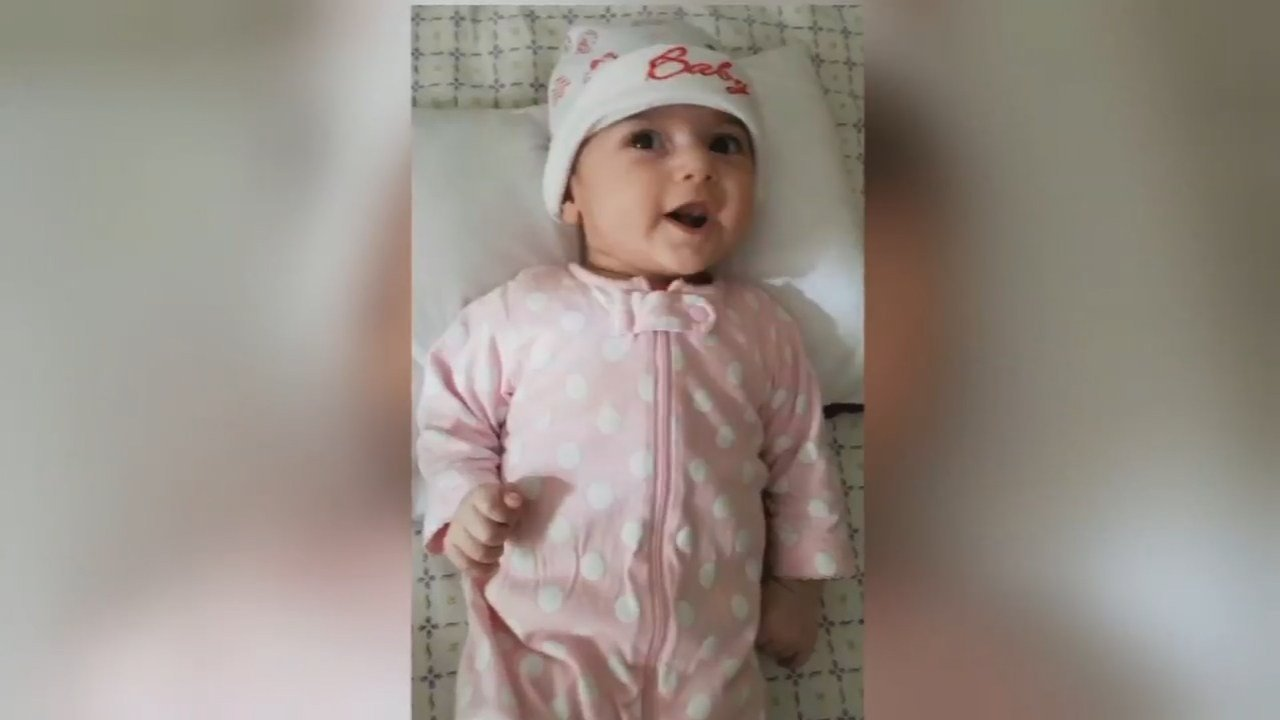 Four-month-old Fatemah (Family photo/KPTV)