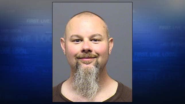 James Edward Zwaschka, jail booking photo