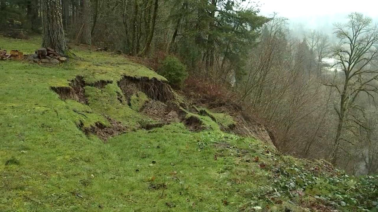 Landslide near Highway 224 (KPTV)