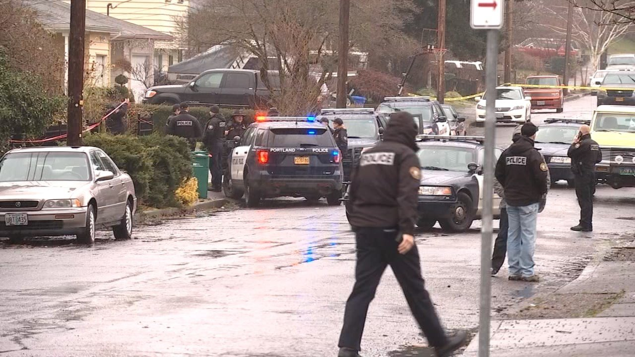 Deadly officer-involved shooting scene in northeast Portland (KPTV)