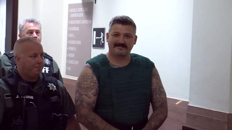 Brent Luyster during prior court appearance. (KPTV)