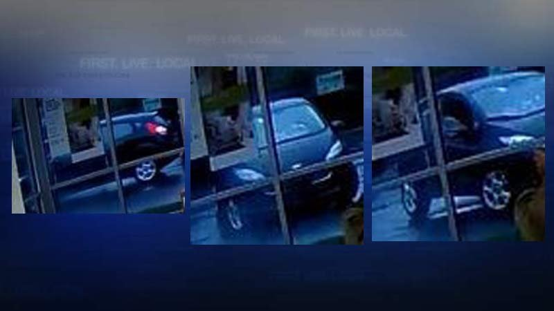 Keizer credit union robbery suspect vehicle (Images: Keizer PD)