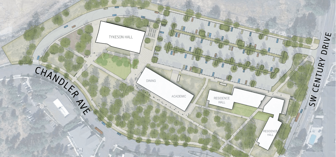 Oregon State University - Cascades is in the middle of building out a 10-acre expansion of the campus in Bend. (OSU-Cascades)