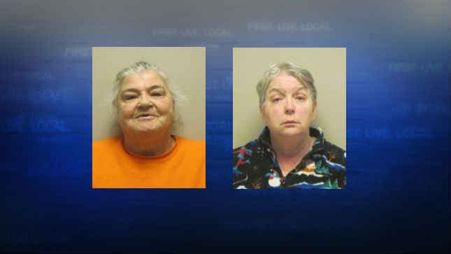 Nettie Anderson and Sandra Anderson, jail booking photos. (Courtesy: Columbia County Sheriff's Office)