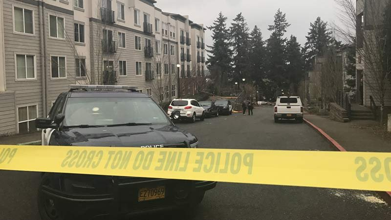 Death investigation in northeast Portland. (KPTV)