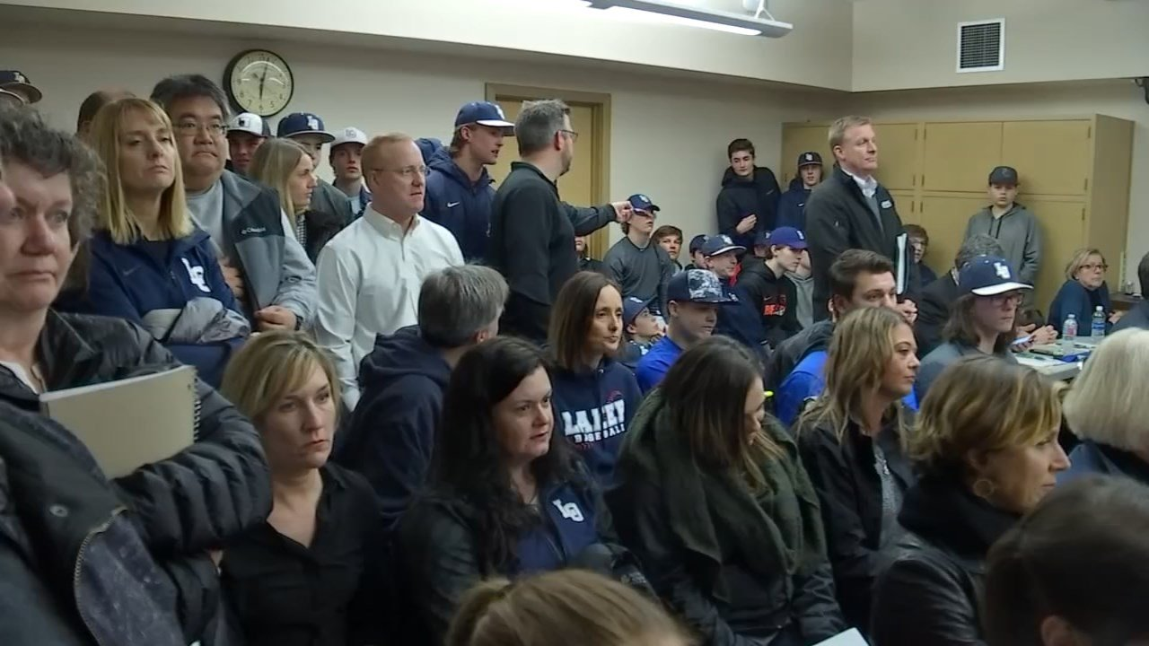 Parents, student athletes and community members voiced their concern to school board members Monday night. (KPTV)