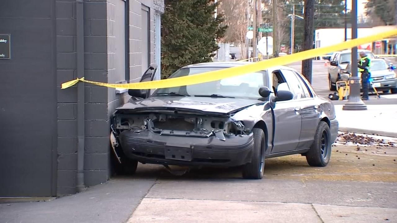 Officer-involved shooting scene in Vancouver. (KPTV)