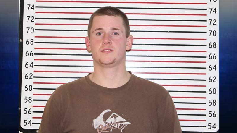 Derek Neil Mendenhall, jail booking photo